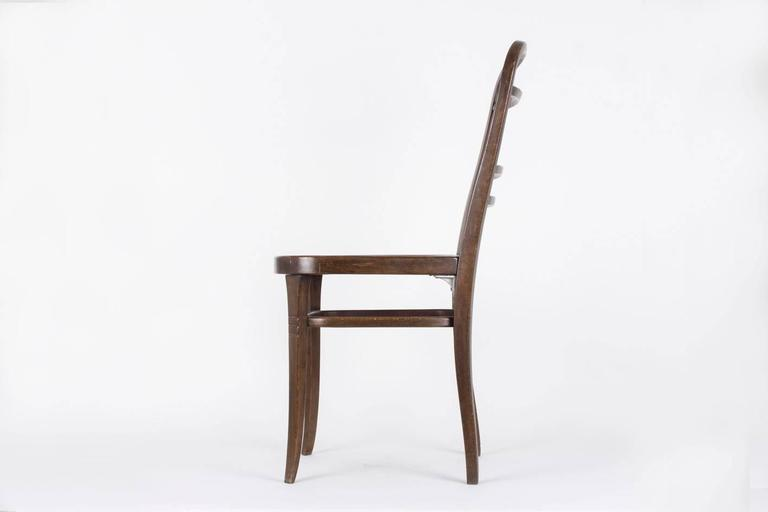 Vienna Secession Chair Designed by Otto Wagner for the Viennese Savings Bank, 1904 For Sale