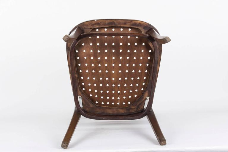 Chair Designed by Otto Wagner for the Viennese Savings Bank, 1904 For Sale 3