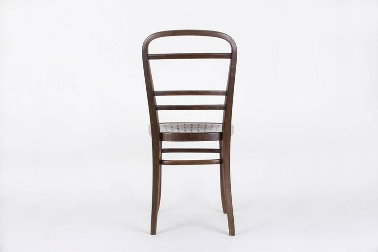 Austrian Chair Designed by Otto Wagner for the Viennese Savings Bank, 1904 For Sale