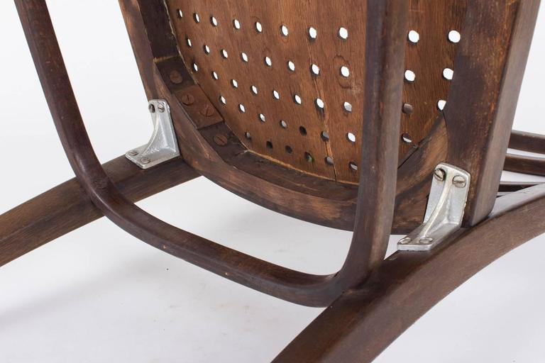 Chair Designed by Otto Wagner for the Viennese Savings Bank, 1904 For Sale 2