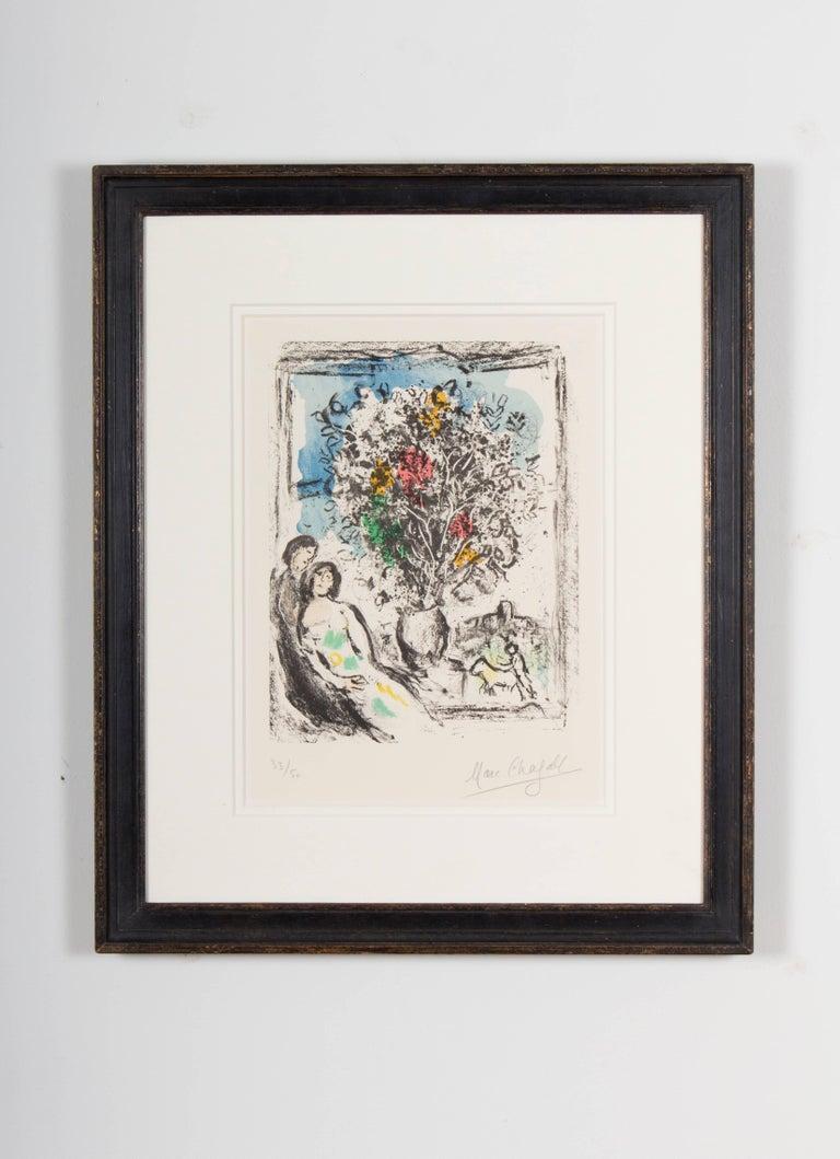 Marc chagall le petite fen tre bleue saint paul 1974 for Petite fenetre
