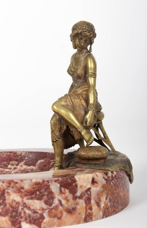 rare 39 namgreb 39 vienna bronze by franz bergmann for sale at 1stdibs. Black Bedroom Furniture Sets. Home Design Ideas