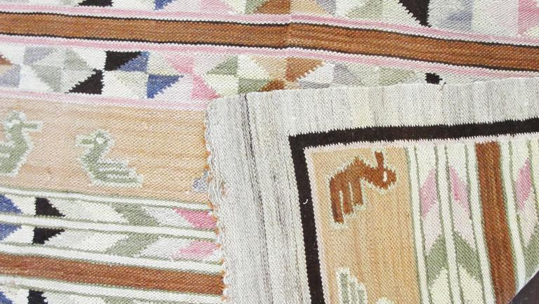 Beautiful Peruvian Kilim For Sale At 1stdibs