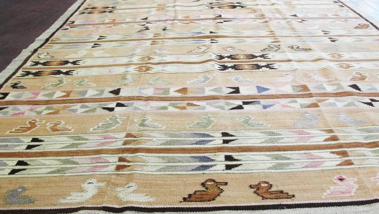1940 S Navajo Rug Designs Navajo Yei Design Woven Wool Rug