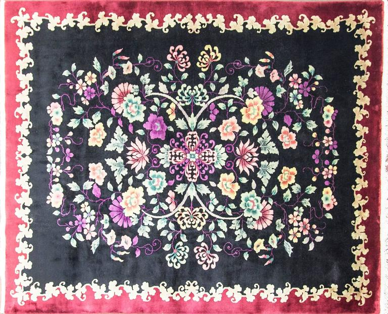 Outstanding Antique Art Deco Carpet For Sale At 1stdibs