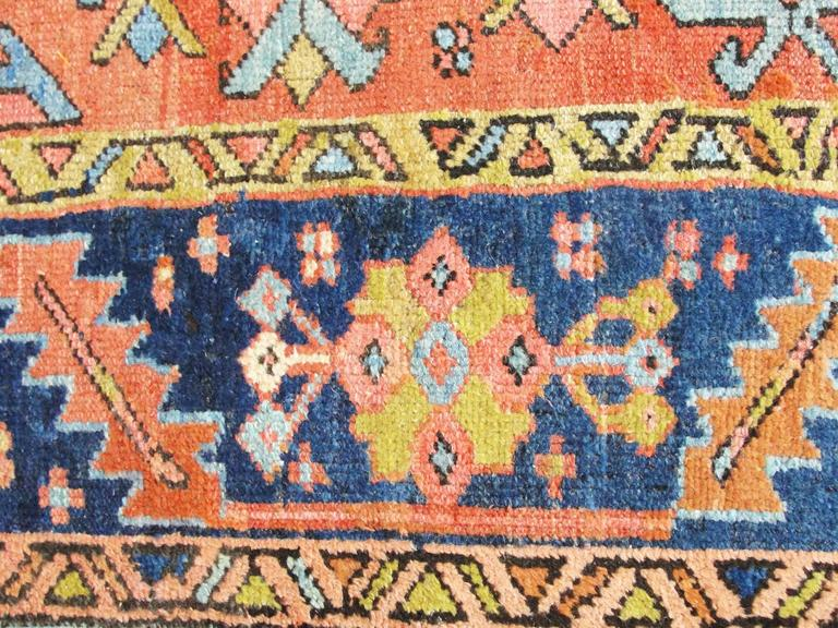 Antique Heriz Village Carpet At 1stdibs