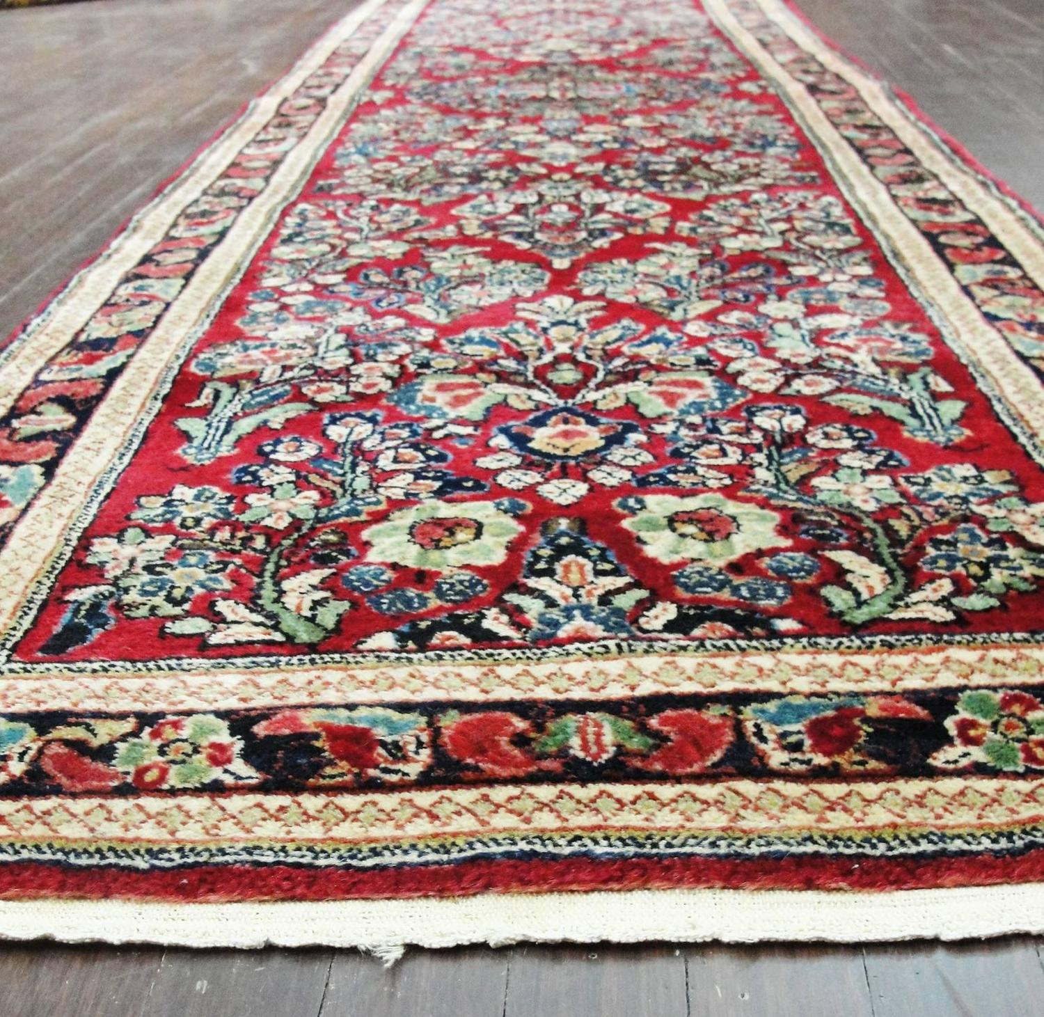 Amazing Sarouk Runner Carpet For Sale At 1stdibs