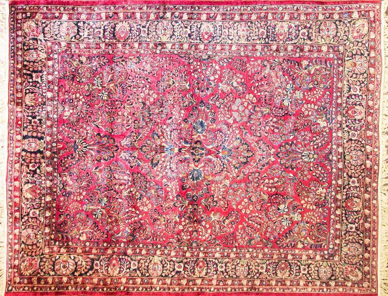 Gorgeous Persian Sarouk Carpet Circa 1920 At 1stdibs