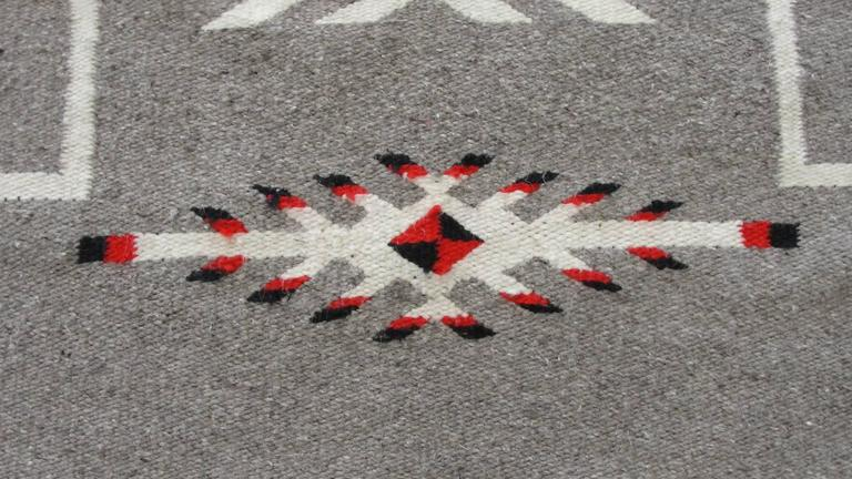 Two Grey Hills Navajo Rug For Sale At 1stdibs