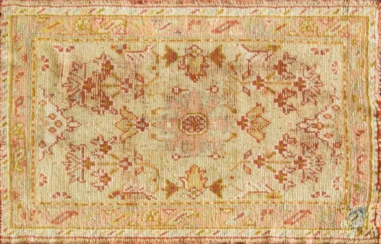 Ushak rugs have been in production since the 15th century with superb wool and natural dyes. Unlike other Turkish rugs, Ushak rugs influenced after Persian rugs and the woven with Ghiordies knots and all double knotted, their design is feature
