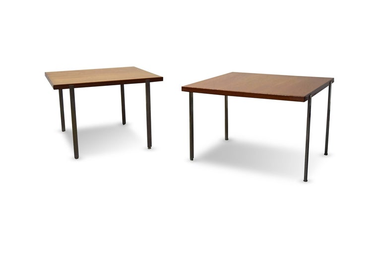 Pair of Harvey Probber Architectural Series End Tables In Excellent Condition For Sale In Middlesex, NJ