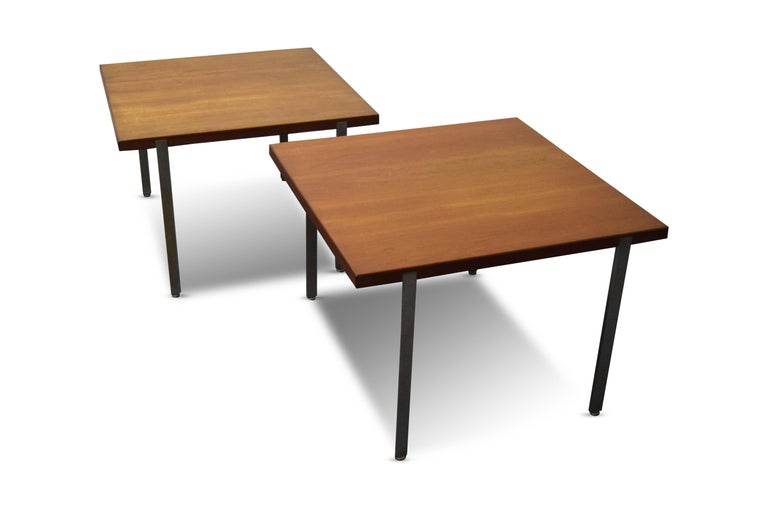 Pair of Harvey Probber Architectural Series End Tables For Sale 1