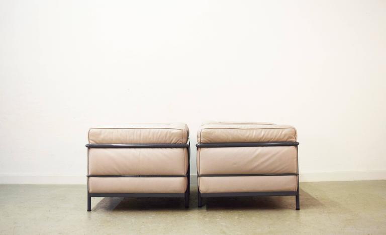 Italian Pair Of Le Corbusier LC3