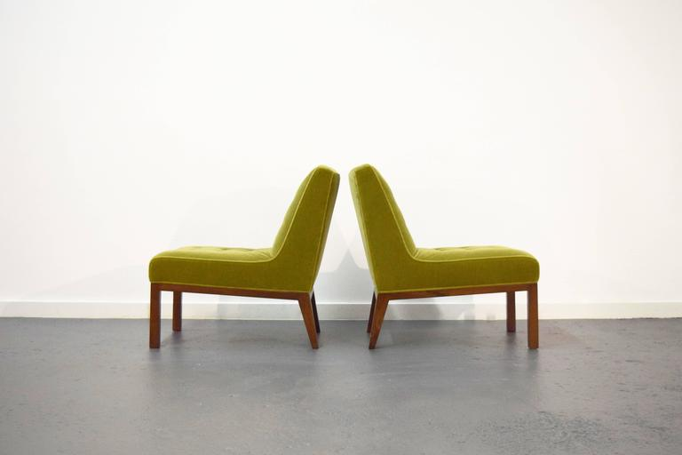 Pair of Slipper Chairs by Edward Wormley for Dunbar 3