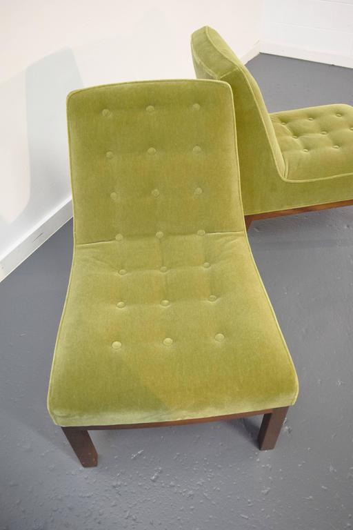 Pair of Slipper Chairs by Edward Wormley for Dunbar 6