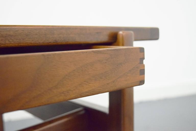 20th Century Pair of Jens Risom End / Side Tables For Sale
