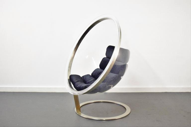 Bubble Lounge Chair by Christian Daninos In Good Condition For Sale In Middlesex, NJ