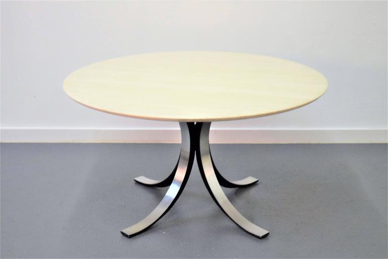 Mid-Century Modern Osvaldo Borsani and Eugenio Gerli Tecno Dining Table For Sale