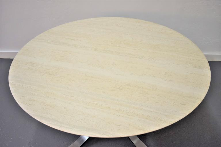 Italian Osvaldo Borsani and Eugenio Gerli Tecno Dining Table For Sale