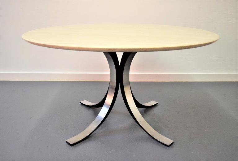 Osvaldo Borsani and Eugenio Gerli Tecno Dining Table In Excellent Condition For Sale In Middlesex, NJ
