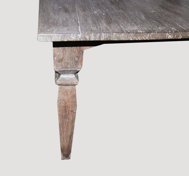 Andrianna Shamaris Wabi-Sabi Teak Wood Dining Table For