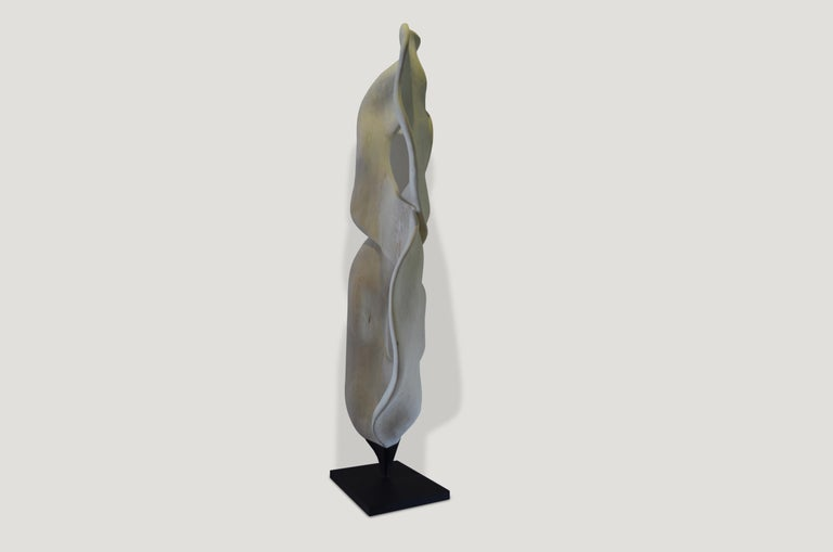 Organic Modern Andrianna Shamaris Figure Eight Sculpture For Sale