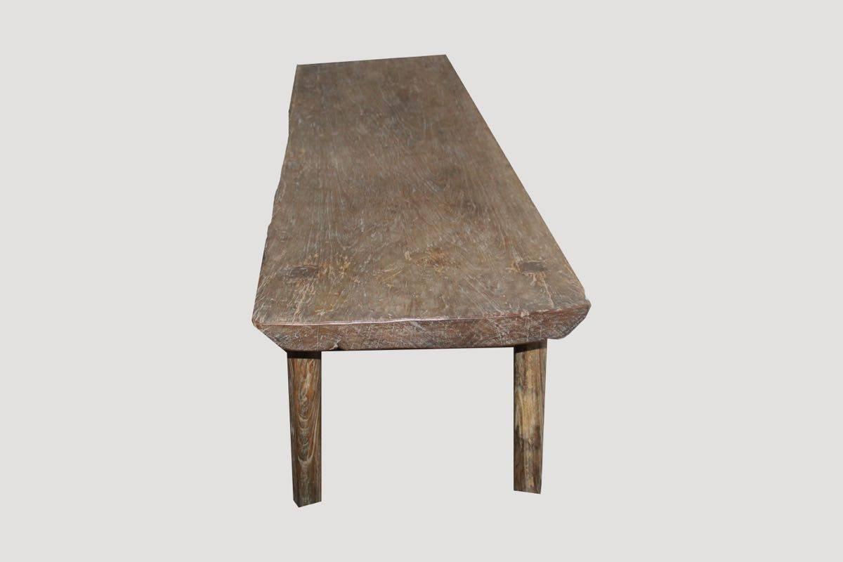 wabi sabi coffee table or bench at 1stdibs