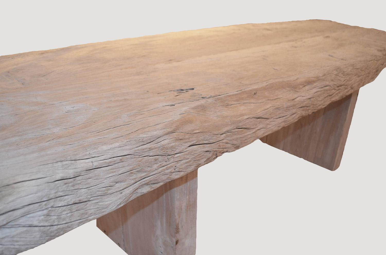 St Barts Teak Wood Dining Table For Sale At 1stdibs