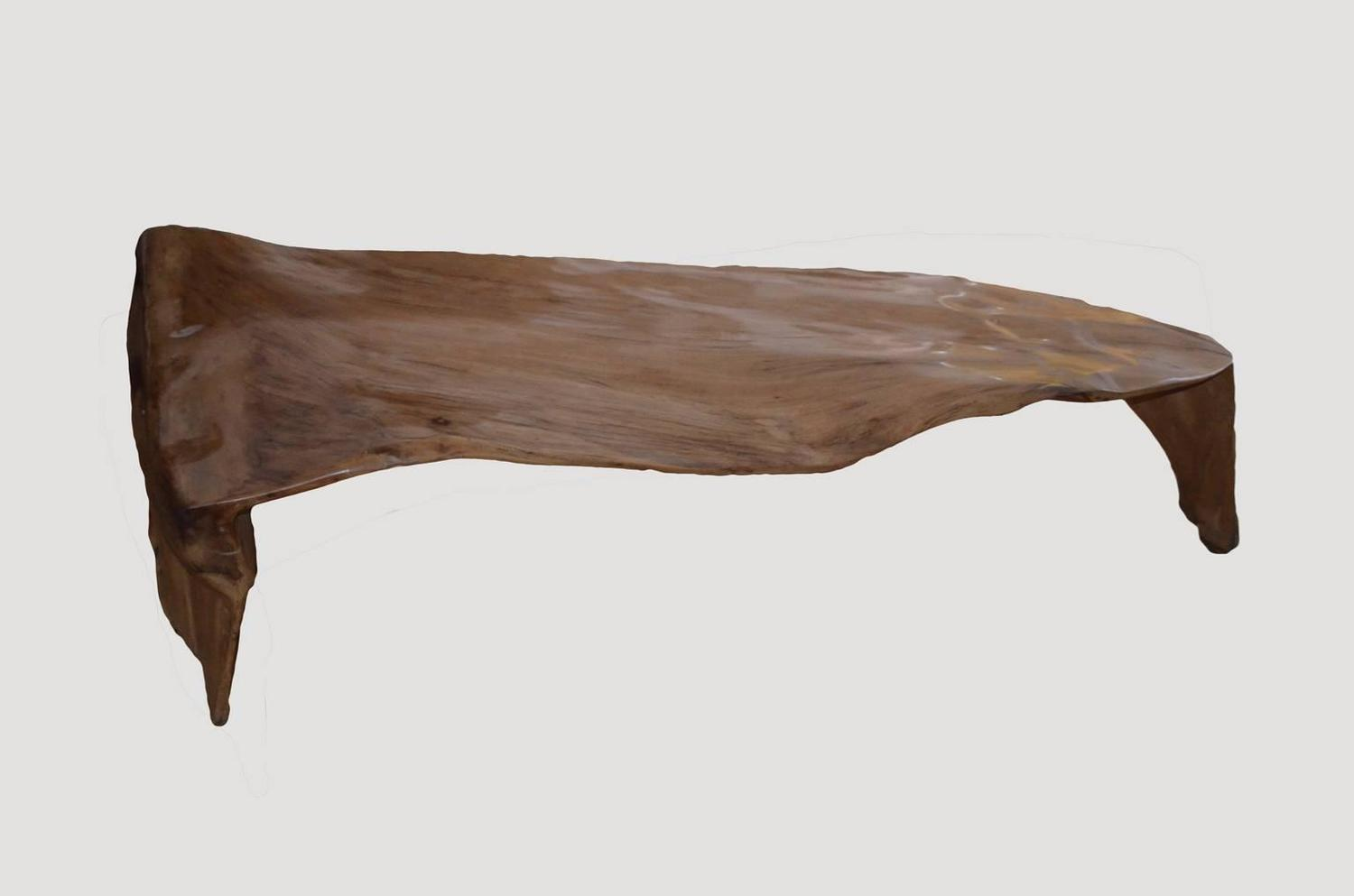 Banyan Wood Root Coffee Table For Sale At 1stdibs