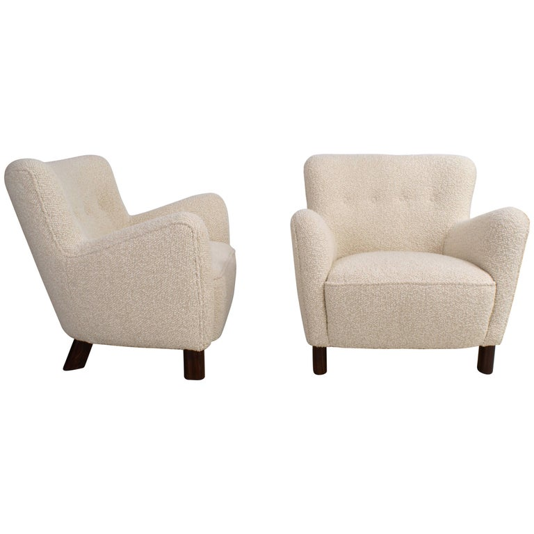 Fritz Hansen Pair of Easy Chairs, Model 1669 For Sale