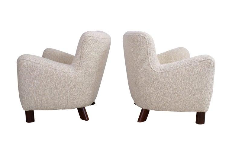 Fritz Hansen Pair of Easy Chairs, Model 1669 In Excellent Condition For Sale In Copenhagen, DK