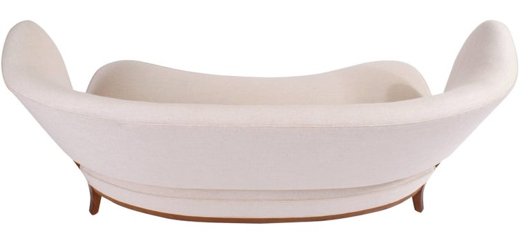 Otto Schulz Sculptural Sofa for Jio Mobler, 1950s For Sale 3