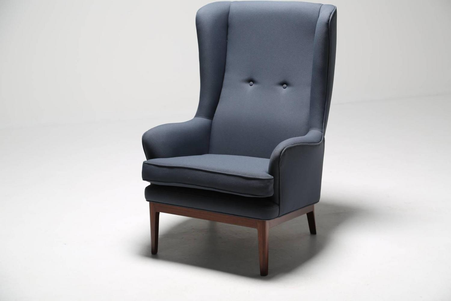 Mid Century Modern Wing Chair By Arne Norell For Sale At