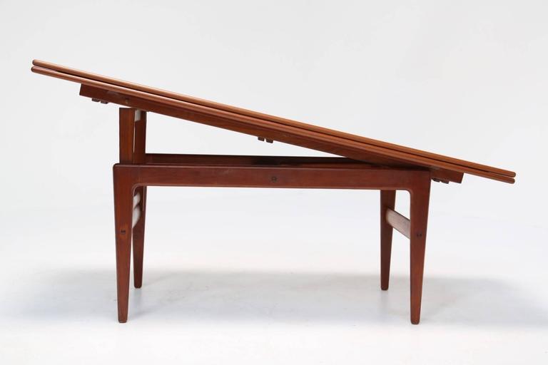 Mid Century Metamorphic Table By Kai Kristiansen At 1stdibs