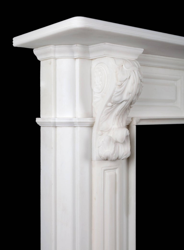 Carved Irish Corbel Fireplace For Sale At 1stdibs