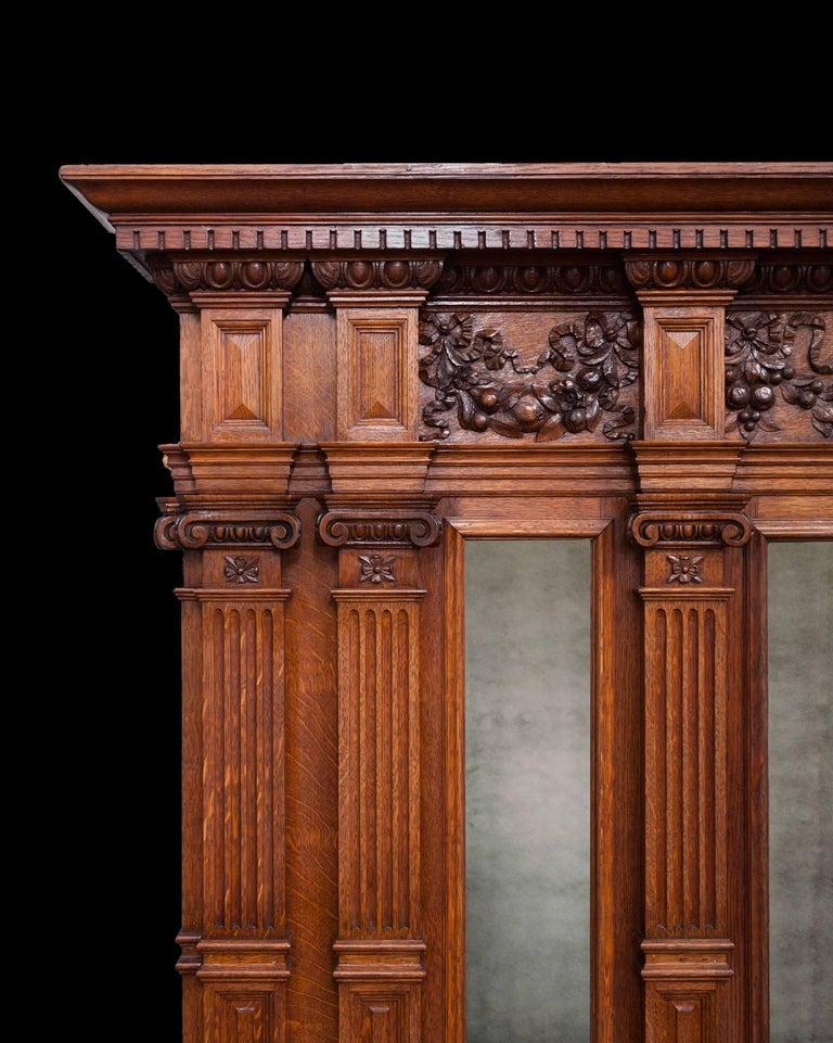 Large Antique Wooden Mantel For Sale At 1stdibs