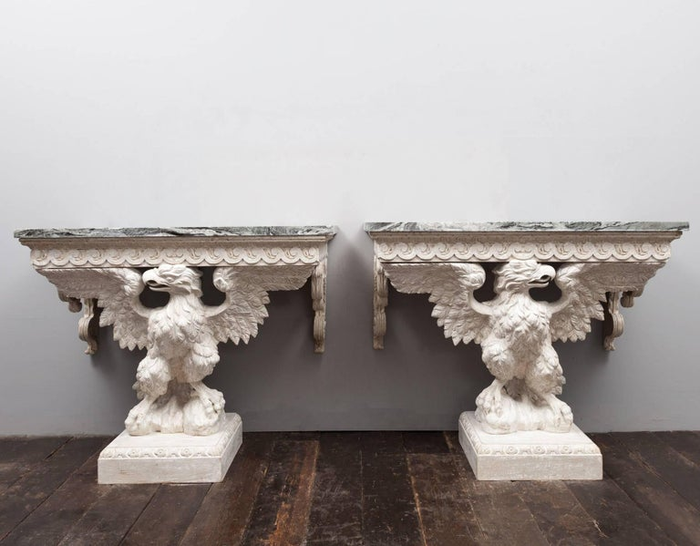 20th Century Pair Console Tables For Sale