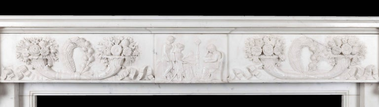 Antique Marble Fireplace 3
