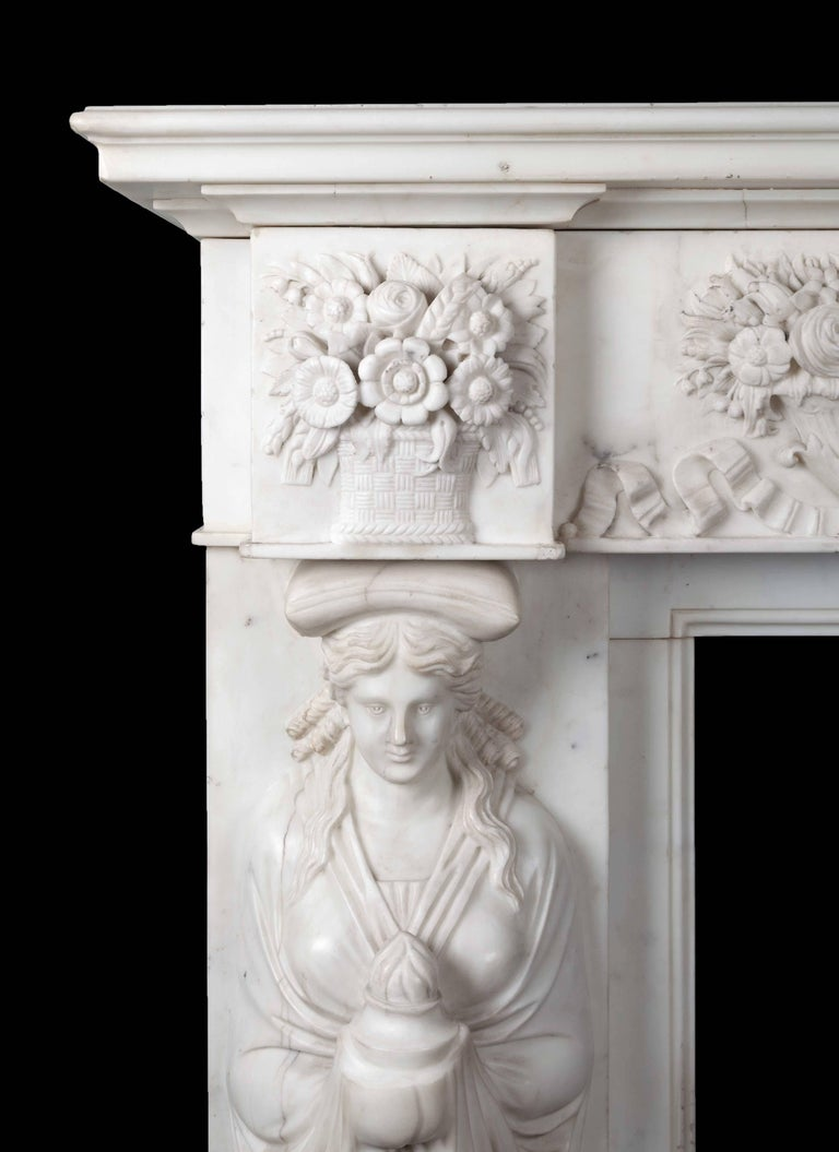 Antique Marble Fireplace 2
