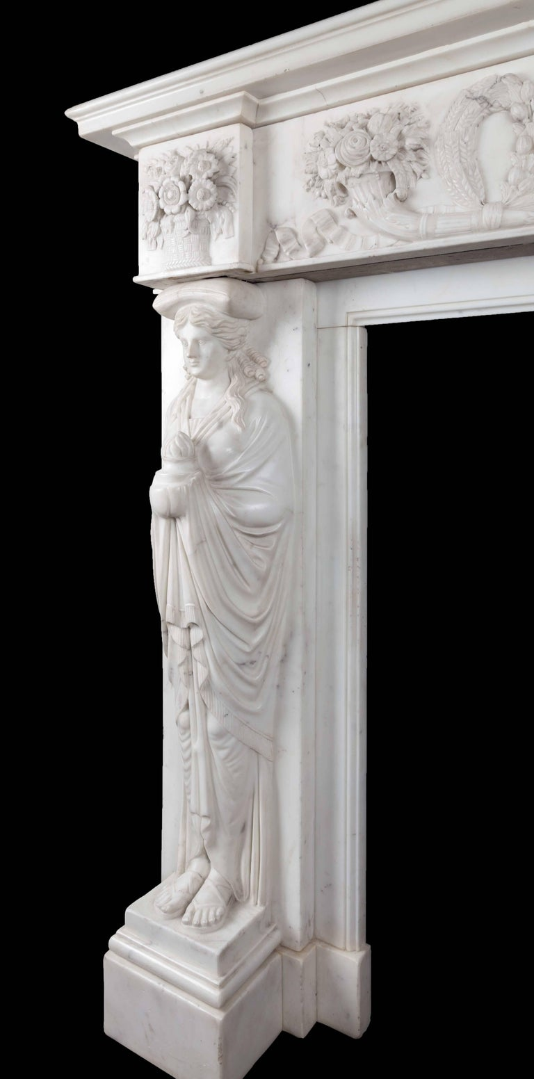 Antique Marble Fireplace 4