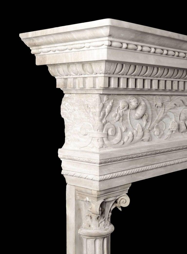 Italian Renaissance Mantel For Sale