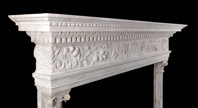 Renaissance Mantel In Excellent Condition For Sale In Tyrone, Northern Ireland
