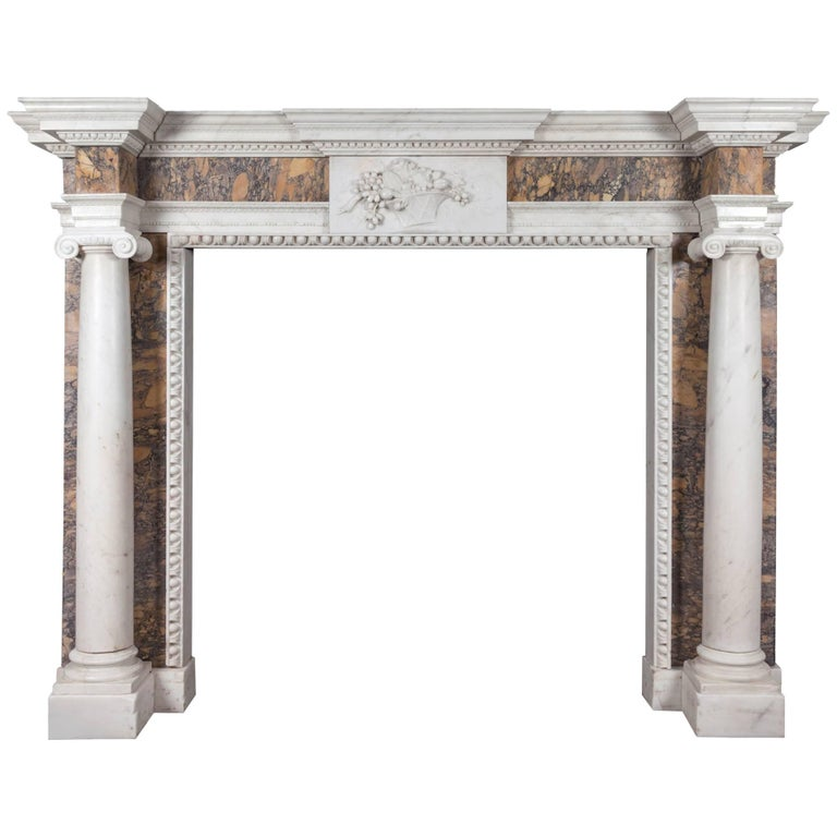 Irish Georgian Fireplace For Sale