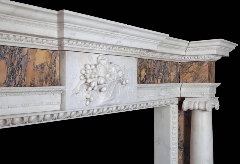 18th Century Irish Georgian Fireplace For Sale