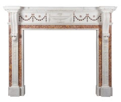 Antique Marble Fireplace in the George III Neo-classical Style