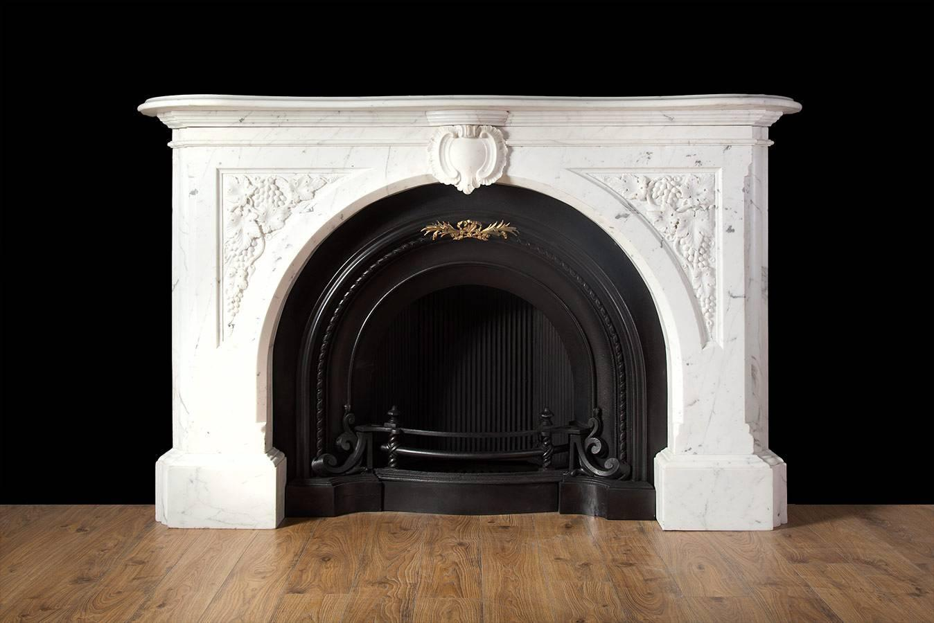 Carved Victorian Fireplace For Sale At 1stdibs