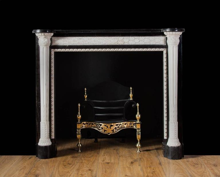 French empire style marble mantel piece for sale at 1stdibs - Fireplace mantel piece ...