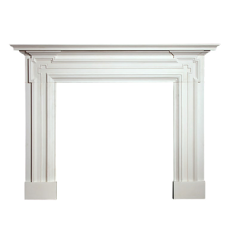 Windsor Regency Style Marble Fireplace