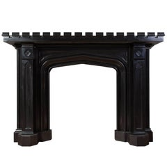 Gothic Marble Mantelpiece