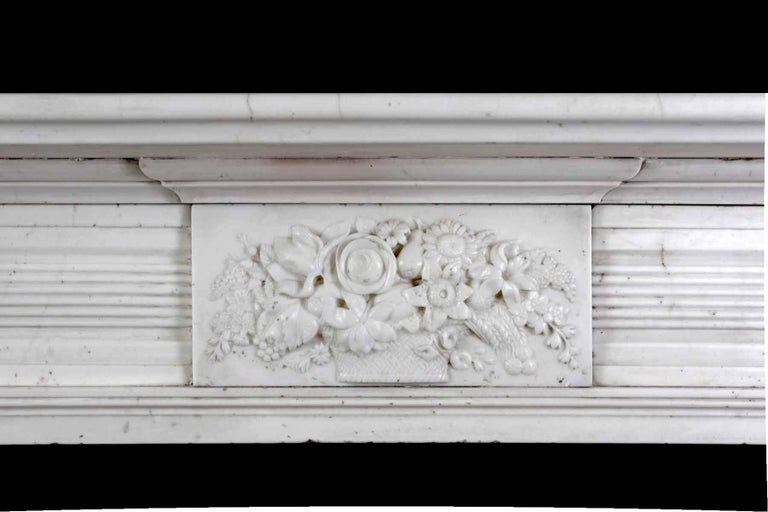 Antique Regency Marble Fireplace In Good Condition For Sale In Tyrone, Northern Ireland